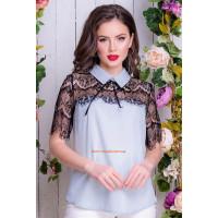 Нарядная женская блузка большого размера