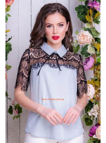 Нарядна жіноча блузка великого розмір