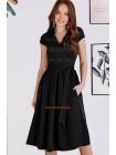 Жіноче плаття на запах великого розміру
