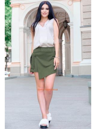 Летняя модная юбка шорты большого размера