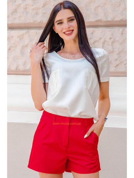 Стильные короткие шорты с поясом