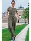 Летний модный комбинезон для полных женщин