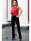Стильные классические брюки для полных девушек