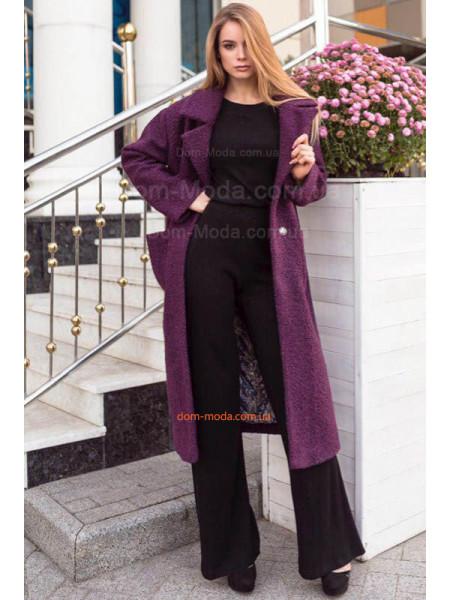 Жіноче зимове пальто із поясом великого розміру