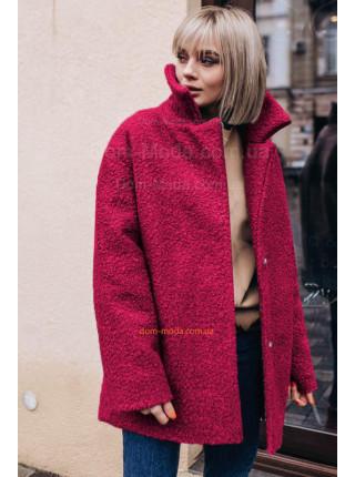 Стильное зимнее пальто на холлофайбере большого размера
