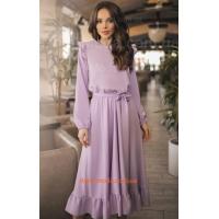 Красиве повсякденне плаття із довгим рукавом