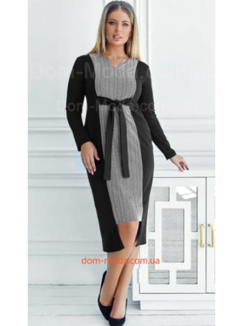Трикотажне плаття для повних