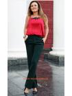 Модні класичні брюки зі стрілками великого розміру