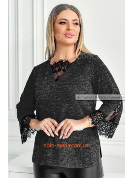 Блузка із ангори
