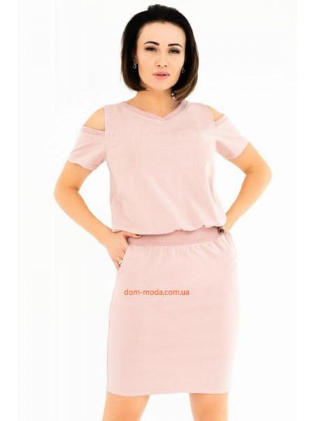 Коротке плаття в спортивному стилі