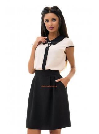 Модная женская юбка выше колена