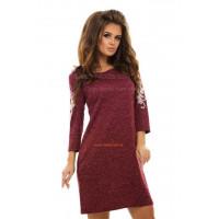 Короткое платье женское с карманами