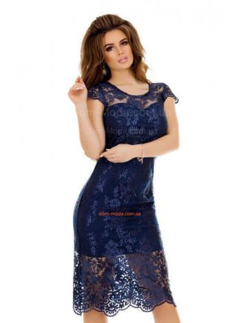 """Коротке жіноче плаття із коротким рукавом """"Русалка"""""""