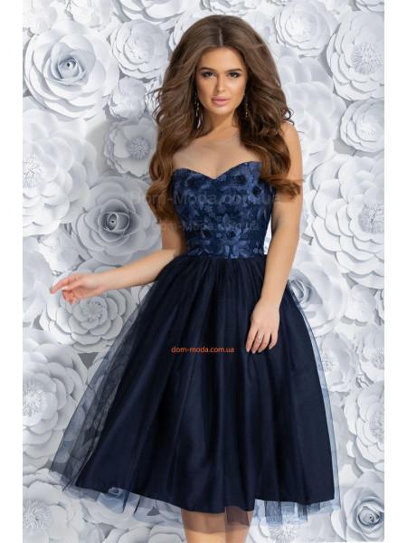 Жіноче вечірнє плаття з пишною спідницею ... e102fdc9e592a