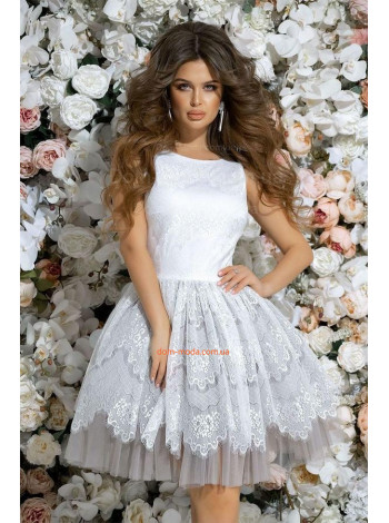 Нарядное платье без рукав