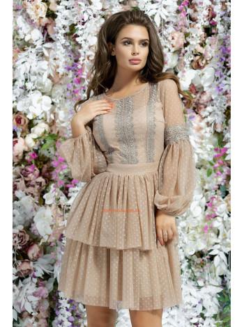Коктельное платье в стиле бэби дол