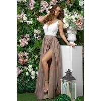 """Шикарное вечернее женское платье с вырезом """"Шарм"""""""
