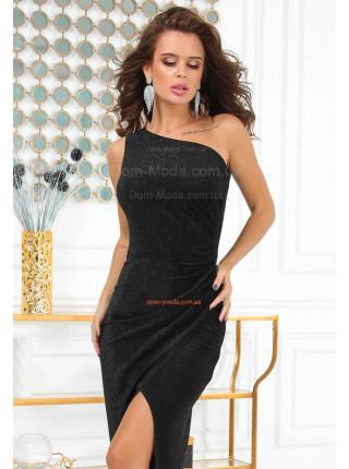 Плаття з люрексу в пол