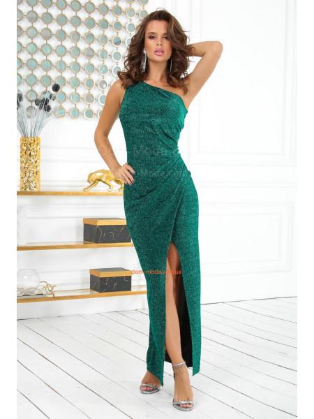 Платье из люрекса в пол