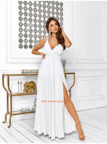 Женское изысканное вечернее платье