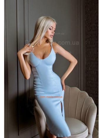 Женское силуэтное платье