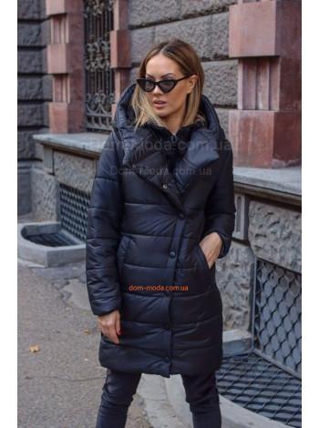 """Стильное пальто с капюшоном """"Дюк"""""""