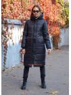 Зимняя женская куртка пальто на синтепоне