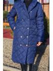 Женское демисезонное пальто с капюшоном