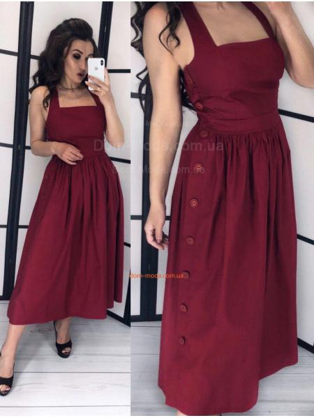 Модный летний сарафан миди для девушек
