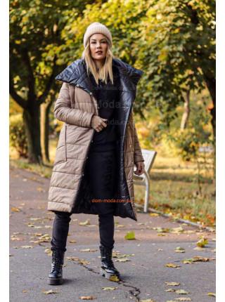 Женская двухсторонняя куртка пальто