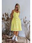 Модне літнє плаття на бретельках