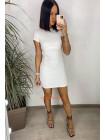 Летнее модное платье с открытой спиной