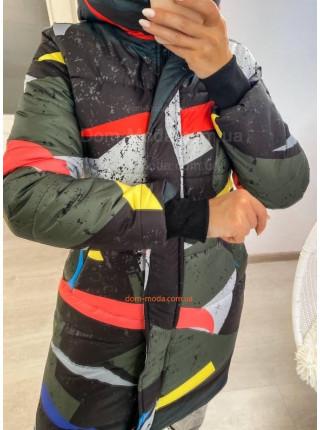 Молодіжна зимова куртка для дівчат