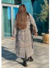 """Женское длинное зимнее пальто """"Венера"""""""