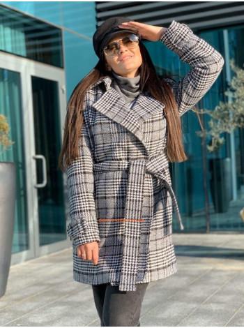 """Теплое модное пальто """"Мисис"""""""