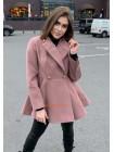 """Кашемірове жіноче пальто """"Кльош"""""""