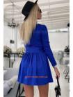 Жіноче коротке плаття в стилі бебі-долл