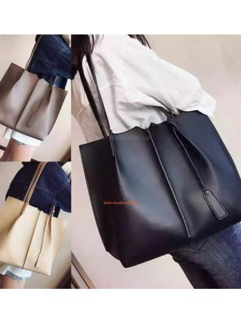 Женская сумка большая с клатчем