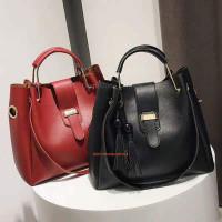 Модная женская сумка через плече + клатч