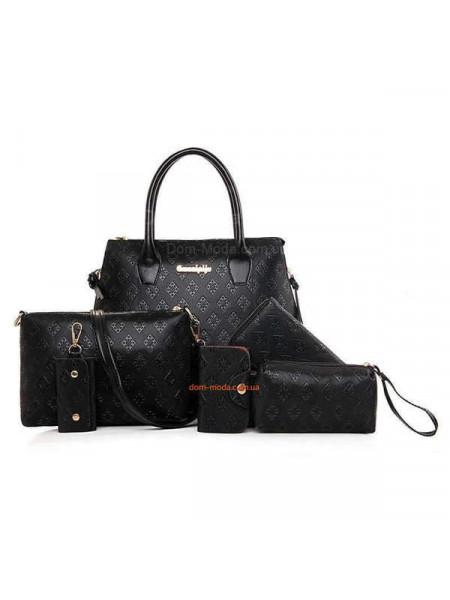 Жіноча сумка 6в1 клатч і гаманець