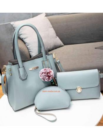 Ділова жіноча сумка з клатчем