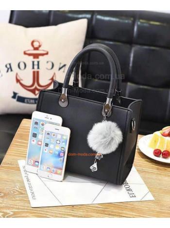 Женская сумка саквояж маленькая