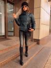 Стильная зимняя короткая куртка
