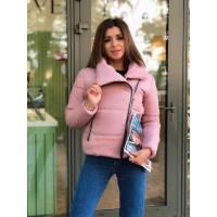 Стильна зимова коротка куртка