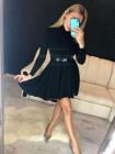 Стильне жіноче плаття гольф із пишною спідницею
