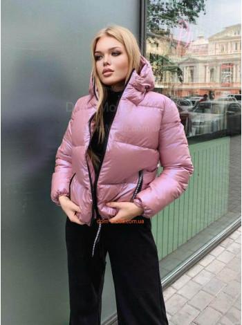 Стильная женская куртка со съёмным капюшоном