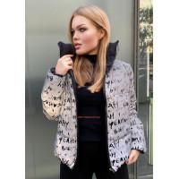 Женская двухсторонняя куртка на молнии