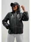 Куртка жіноча демісезонна з капюшоном