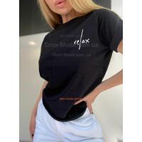Свободная футболка женская