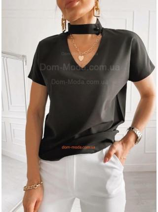 Блузка с чокером
